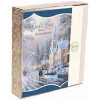 Dayspring Cards 197047 Card - Boxed-Gods Love-Kinkade - Box of 18