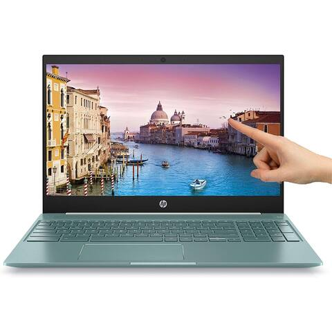 """HP 7MP90UA 15.6"""" Intel Core I3-8130u 4GB SDRAM 128GB Touchscreen Chromebook (Refurbished)"""