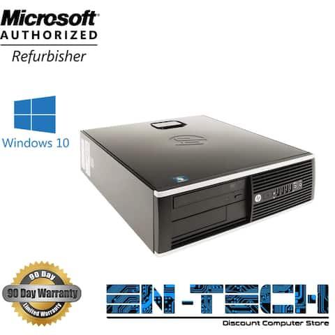 HP Compaq 8300 Elite SFF Refurbished PC - Intel Core i5 3470 3rd Gen 3.2 GHz 8GB 500GB DVD-RW Windows 10 Pro 64-Bit - Grade B
