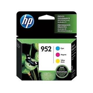 HP 952 Combo Pack N9K27AN#140 952 3-Pack Cyan-Magenta-Yellow Original Ink Cartridges