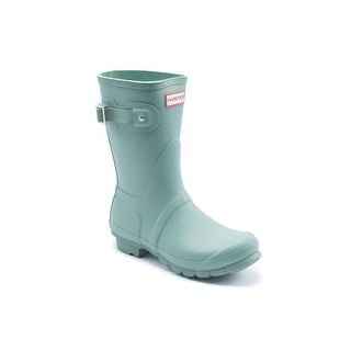 Hunter Womens Succulent Green Original Short Rain Boots
