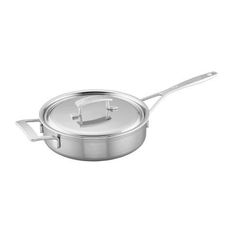 Demeyere Industry 5-Ply Stainless Steel Saute Pan