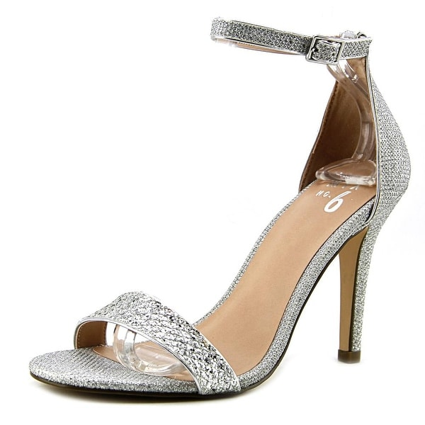 Mix No 6 Lina Women Open Toe Synthetic Silver Sandals