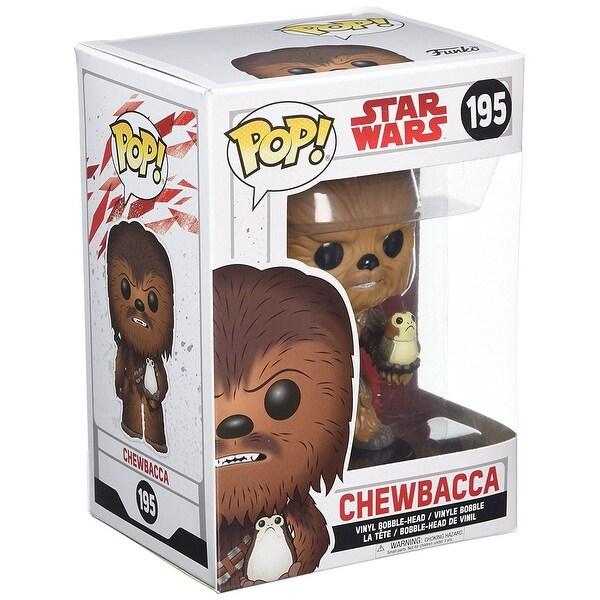 Star Wars: The Last Jedi POP Vinyl Figure: Chewbacca & Porg - multi