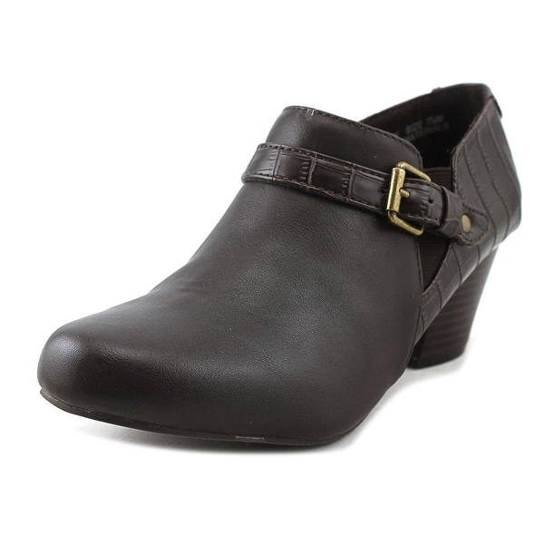 Studio Works Quartzy Women Round Toe Synthetic Brown Bootie