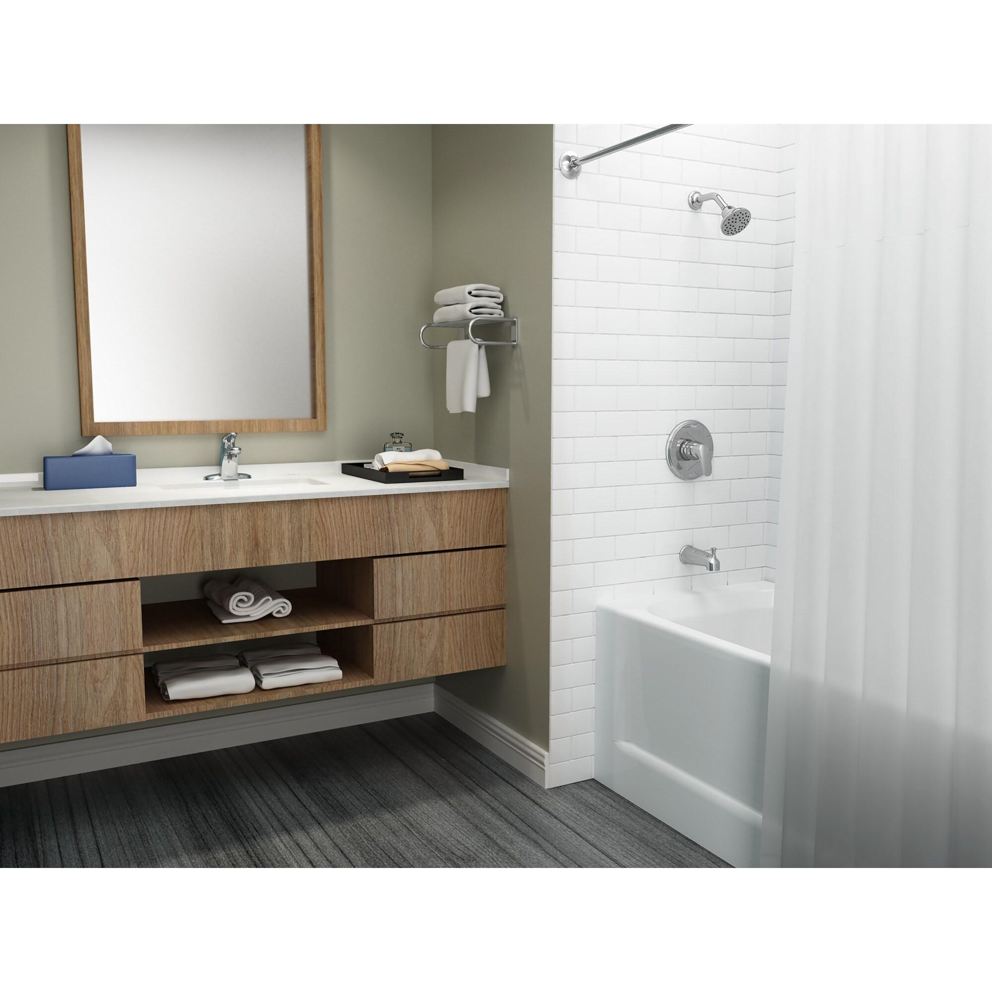 American Standard 7075 000 Colony Pro Centerset Single Handle Bathroom Overstock 16308670