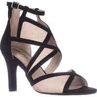 Rialto Ria Strappy Dress Heel Sandals, Black
