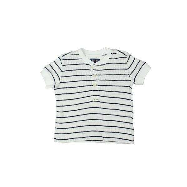 c1ccacff2884 Shop Polo Ralph Lauren Henley Shirt Toddler Boys Striped - Free Shipping On  Orders Over $45 - Overstock - 23553342