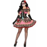 Day Of The Dead Senorita Costume, Day Of The Dead Costume