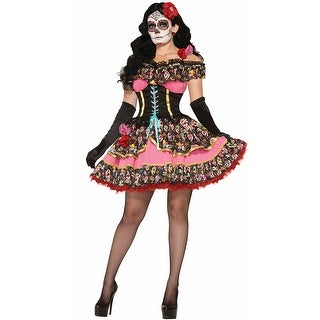 Day Of The Dead Senorita Costume, Day Of The Dead Costume