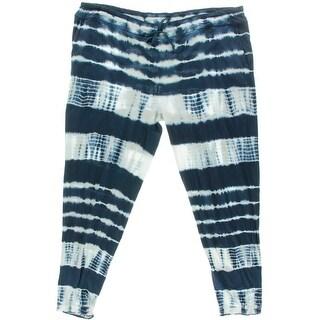 American Living Womens Cotton Tie-Dye Lounge Pants - S