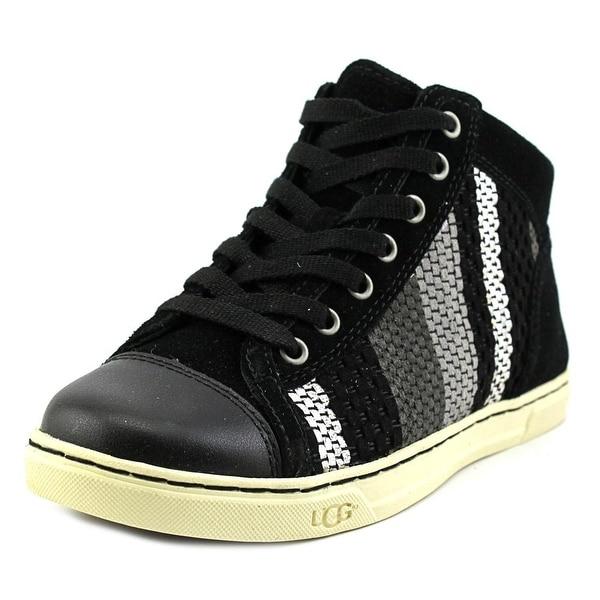 Ugg Australia Tylah Woven Suede Women Suede Black Fashion Sneakers