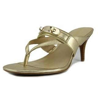 Coach Olina   Open Toe Leather  Sandals
