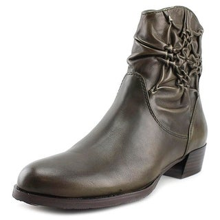 Everybody By BZ Moda Faye Round Toe Synthetic Ankle Boot