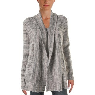 Three Dots Womens Cardigan Sweater Cardigan Drapey