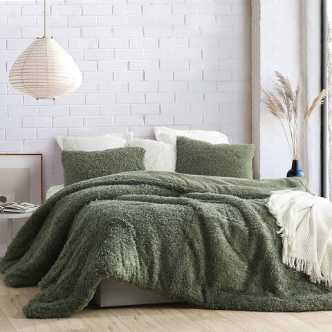 Dear Momma - Coma Inducer® Oversized Comforter - Commander Green