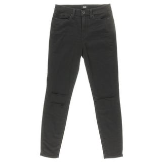 Paige Womens Margot Ultra Skinny Destroyed Skinny Jeans