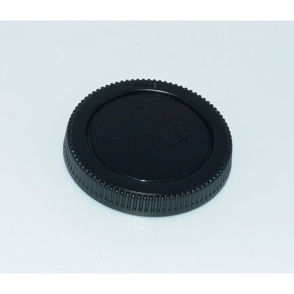 OEM Panasonic Rear Lens Cap Originally Shipped With: HH020A, H-H020A, HHS35100, H-HS35100, HFS100300, H-FS100300
