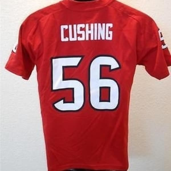 best service 8c349 c0535 WITH-FLAW Brian Cushing #56 Houston TEXANS YOUTH Medium M 10-12 Jersey 30AP