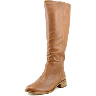 Corso Como Garrison Women  Round Toe Leather Brown Knee High Boot