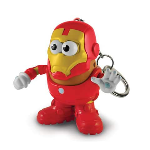 "Marvel 2"" PopTater Character Keychain: Iron Man - Multi"