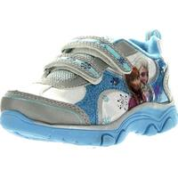 Disney Girls Frozen Princess Elsa And Anna Fashion Sneakers