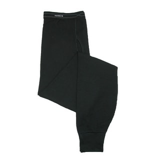 Hanes Men's Tall Size Thermal Pant Bottoms - Black