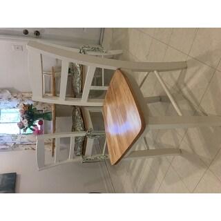 Madrid Wood Ladder-back Chairs (Set of 2)