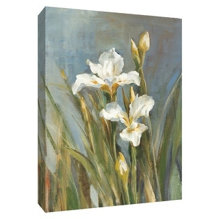 "PTM Images 9-154621  PTM Canvas Collection 10"" x 8"" - ""Spring Iris II"" Giclee Irises Art Print on Canvas"