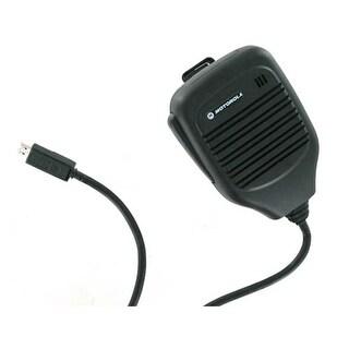 OEM Motorola microUSB RSM Remote Speaker / Shoulder Mic / Car Speaker SJYN0308A
