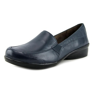 NaturalSoul by Naturalizer Carryon Round Toe Leather Loafer