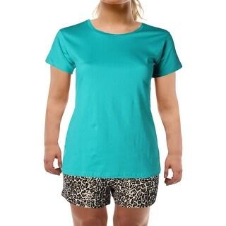 Body Frosting Womens Pajama Set Cotton 2PC