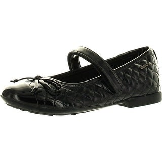 Geox Girls Plie Designer Casual Fashion Quilted Flats Shoes