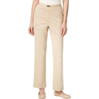 Alfred Dunner Womens Casual Pants Knit Embellished