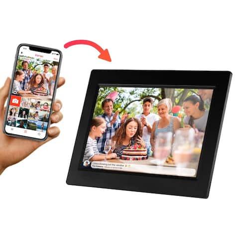 "Sylvania SDPF1095 10"" Smart Digital Picture Frame 8GB / WiFi / IPS Touchscreen Manufacturer Refurbished"