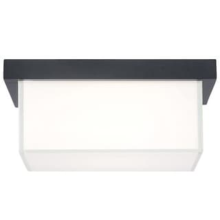 """Modern Forms FM-1414 Ledge 1 Light 14"""" Wide LED Outdoor Flush Mount Ceiling Fixture - 14 Inches Wide"""
