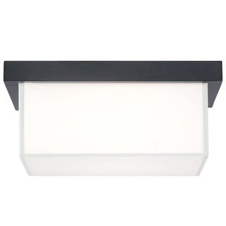 "Modern Forms FM-1414 Ledge 1 Light 14"" Wide LED Outdoor Flush Mount Ceiling Fixture - 14 Inches Wide"