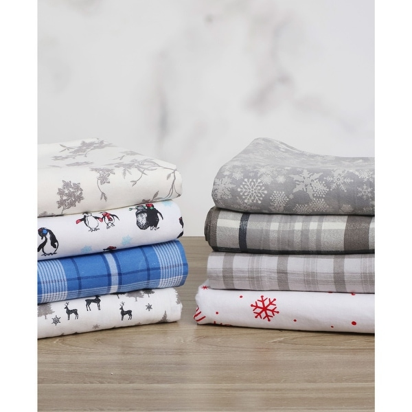 The Gray Barn Swallow Falls Ultra Soft Flannel Bed Sheet Set