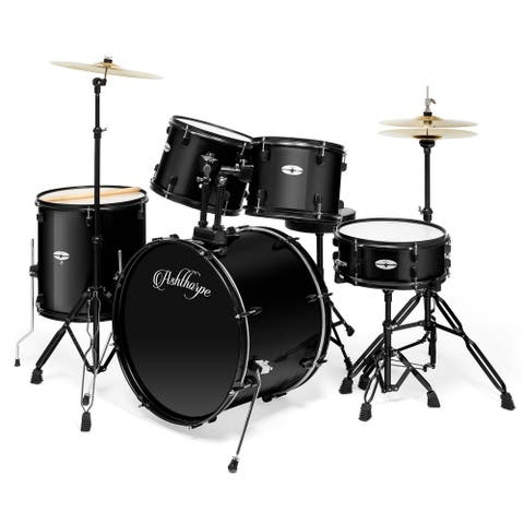 Adult Drum Set with Remo Heads (Set of 5) by Ashthorpe