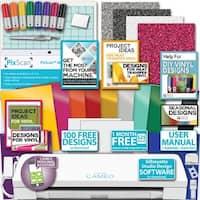 Silhouette Cameo 3 Machine Bundle Siser Vinyl Glitter Htv Pixscan Mat Pens Tool