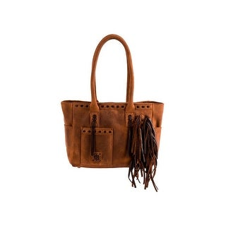 StS Ranchwear Western Handbag Women Chaps Conceal Carry Brown - One size