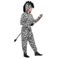 Adult Plus Zebra Costume