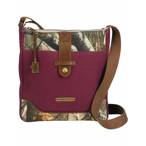 Legendary Whitetails Women's Weekend Adventure Camo Cross Body Purse - One Size Fits most