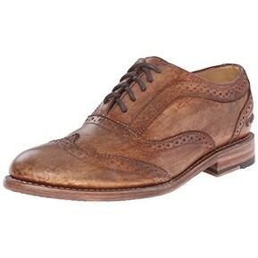 BedStu Women's Lita Oxford Tan Driftwood Shoe - 7 B(M) US