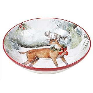 Link to Certified International Winter Forest Serving Bowl Similar Items in Serveware
