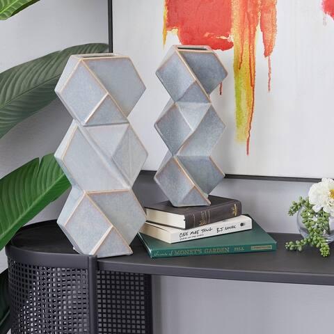 Contemporary Ceramic Vase (Set of 2)