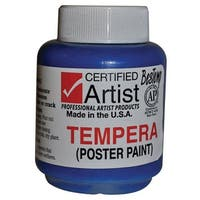 BesTemp - Tempera Paint - 2 oz. Bottle - Regular Colors - Red