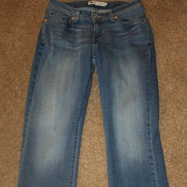 884bb1d2 Shop Levi's 529 Curvy Boot Cut 8 Stretch Jeans 28 X 32 Womens ...
