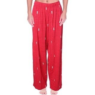 Hue Womens Sleep Pant Printed Elastic