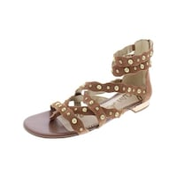 b8a3ee73c3a Shop Naturalizer Womens Felicity Gladiator Sandals Leather Stacked ...